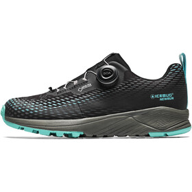 Icebug NewRun RB9 GTX Running Shoes Women, black/jademist